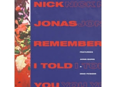 Nick Jonas feat. Anne-Marie & Mike Posner - Remember I Told You