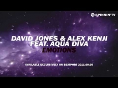 David Jones & Alex Kenji feat. Aqua Diva - Emotions